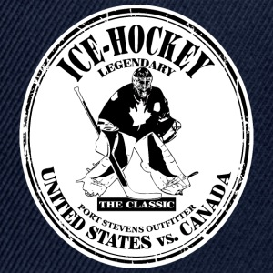 Icehockey - Canadian Keeper - Eishockey  T-Shirts - Snapback Cap
