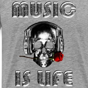 loud music - Mannen Premium T-shirt