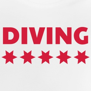 dykning / dykare / diving / simning T-shirts - Baby-T-shirt
