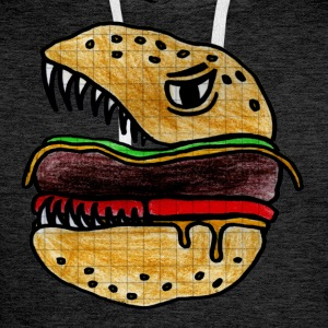 Hungry Burger Tee shirts - Sweat-shirt à capuche Premium pour hommes