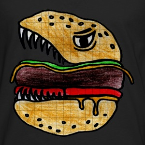 Hungry Burger Tee shirts - T-shirt manches longues Premium Homme