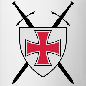 templar cross 3 Tee shirts - Tasse