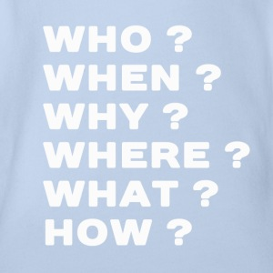 Questions  T-Shirts - Baby Bio-Kurzarm-Body