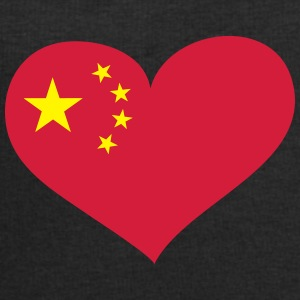 China Herz; Heart China Overig - Mannen sweatshirt van Stanley & Stella