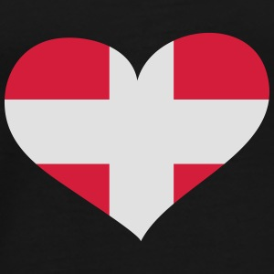 Dänemark Herz; Heart Denmark Bags & Backpacks - Men's Premium T-Shirt