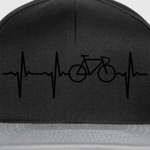 Heartbeat - Bicycle T-skjorter - Snapback-caps