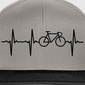Heartbeat - Bicycle T-shirts - Snapbackkeps