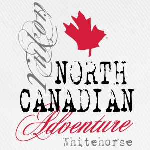 North Canadian Adventure Langarmshirts - Baseballkappe