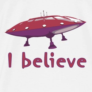 I believe Bags & Backpacks - Men's Premium T-Shirt
