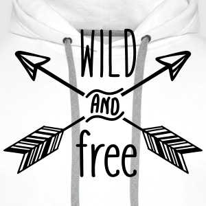AD Wild and Free Sports wear - Men's Premium Hoodie