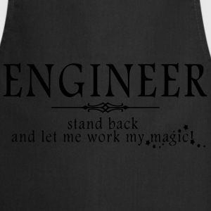 Engineer - Stand Back! Polo Shirts - Cooking Apron
