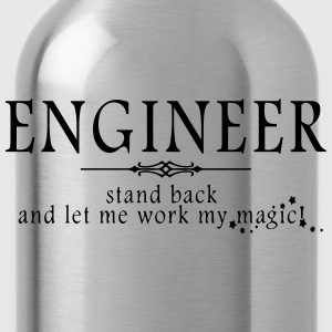Engineer - Stand Back! Polo Shirts - Water Bottle