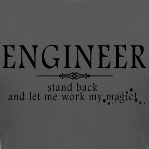 Engineer - Stand Back! Polo Shirts - Women's V-Neck T-Shirt