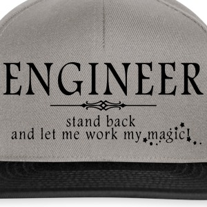 Engineer - Stand Back! Polo Shirts - Snapback Cap