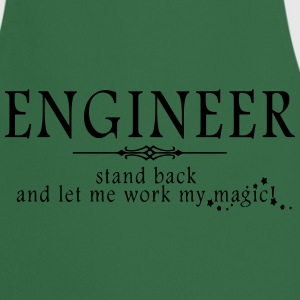 Engineer - Stand Back! T-Shirts - Cooking Apron