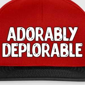 Adorable Deplorable T-Shirts - Snapback Cap