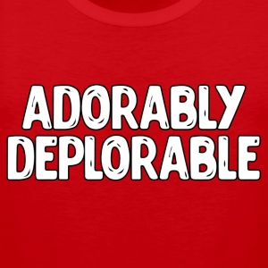 Adorable Deplorable T-Shirts - Men's Premium Tank Top
