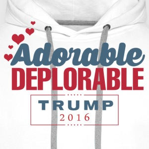 Adorable Deplorable T-Shirts - Men's Premium Hoodie