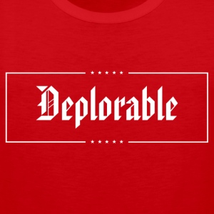 Deplorable T-Shirts - Men's Premium Tank Top