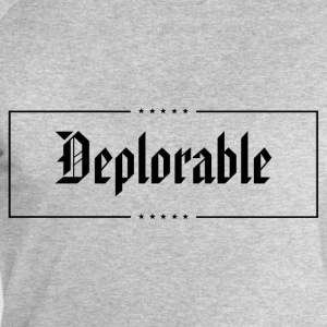 Deplorable T-Shirts - Men's Sweatshirt by Stanley & Stella