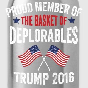 Proud Member Of The Basket Of Deplorables T-Shirts - Water Bottle