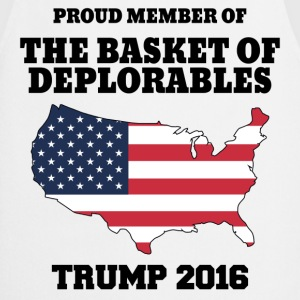 Proud Member Of The Basket Of Deplorables T-Shirts - Cooking Apron