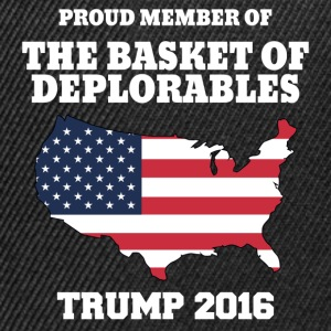 Proud Member Of The Basket Of Deplorables T-Shirts - Snapback Cap