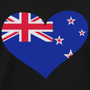 Neuseeland Herz; Heart New Zealand Sports wear - Men's Premium T-Shirt
