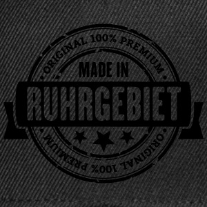 Made in Ruhrgebiet T-Shirts - Snapback Cap