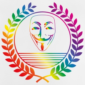 anonymous rainbow T-Shirts - Baby T-Shirt