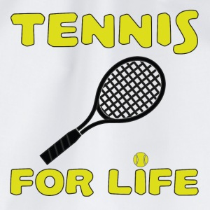 Tennis for life T-Shirts - Drawstring Bag