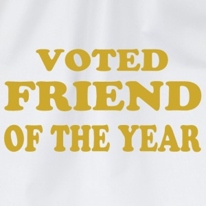 Voted friend of the year T-Shirts - Drawstring Bag