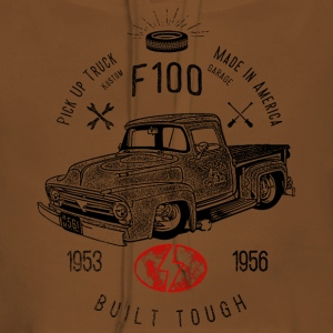 F100 Built Tough, Vintage T-Shirts - Frauen Premium Hoodie