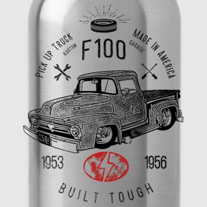 F100 Built Tough, Vintage T-Shirts - Trinkflasche