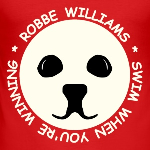 Robbe Williams Swim! Baby Bodys - Männer Slim Fit T-Shirt
