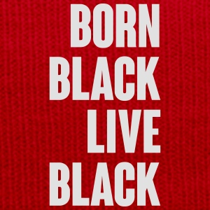 Born Black T-Shirts - Winter Hat