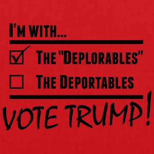 Donald Trump Deplorables T-Shirts - Tote Bag