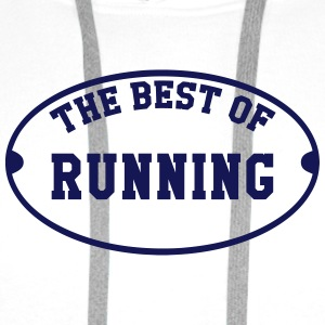 Running / Jogging / Run / Trail / Sport Baby Bodysuits - Men's Premium Hoodie