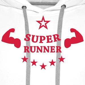 Running / Jogging / Run / Trail / Sport  Aprons - Men's Premium Hoodie