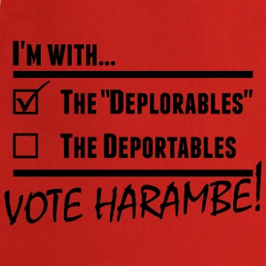 Harambe Deportables T-Shirts - Cooking Apron