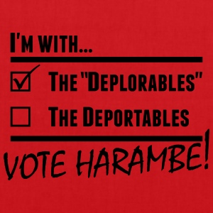 Harambe Deportables T-Shirts - Tote Bag