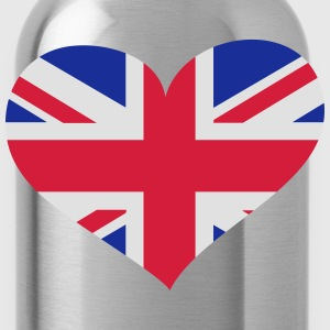 United Kingdom Herz; Heart UK Vêtements de sport - Gourde
