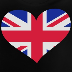 United Kingdom Herz; Heart UK Camisetas - Camiseta bebé