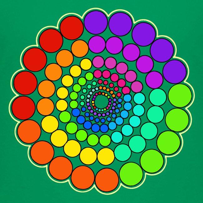 Rainbow Spectrum Mandala