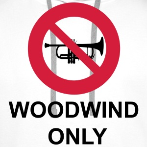 Woodwind  Only T-shirts - Mannen Premium hoodie