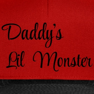 Daddy's little monster Tee shirts - Casquette snapback