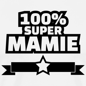 100% super mamie Tabliers - T-shirt Premium Homme