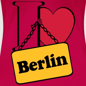 Berlin Tops - Frauen Premium T-Shirt