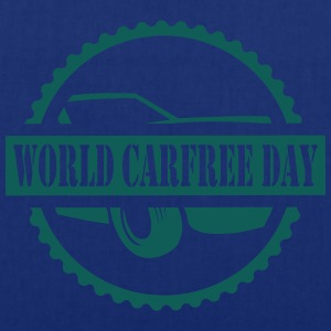 World CarFREE Day T-Shirts - Stoffbeutel