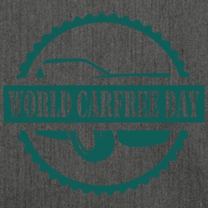 World CarFREE Day T-Shirts - Schultertasche aus Recycling-Material